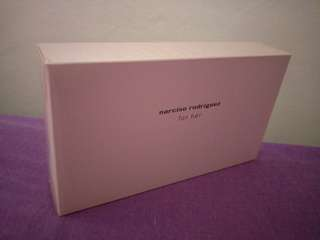 Narciso Rodriguez for her body lotion in a pouch