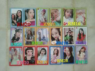 TWICE What is Love Album Photocard