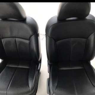 Leather seats for van