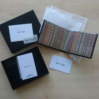 Paul Smith wallet 銀包錢包