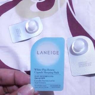 Laneige White plus renew capsule