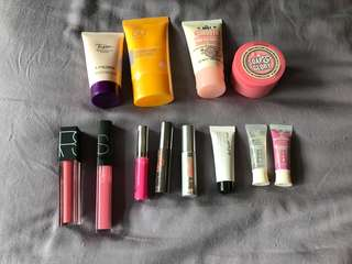 Assorted face and body items from $3!