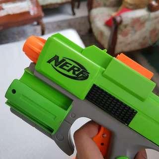 Nerf dart tag guns