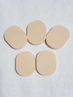 Beige Foundation BB Makeup Sponge