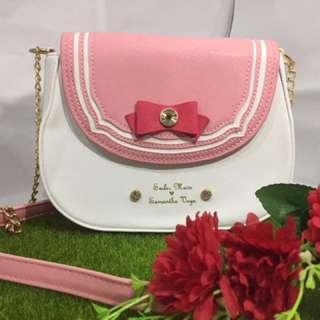 Cute pretty Sailor moon sling bag handbag Japan fashion