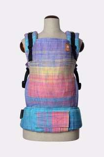 NWT Tula Half Standard Fancy Handwoven WC RHOCKETT CORAL SUNSET WILD CHILD WEFT