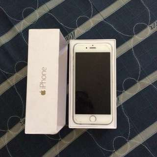 iPhone 6 64gb silver (negotiable)