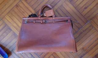 日本製造/Slow Leather Boston Bag