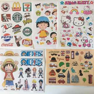 $0 for all luggage stickers