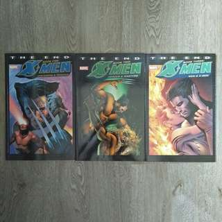 X MEN: THE END 1-3