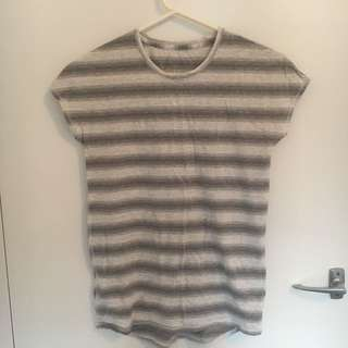NEW Lululemon Striped Workout Top