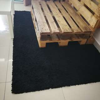 Black Carpet / Rug