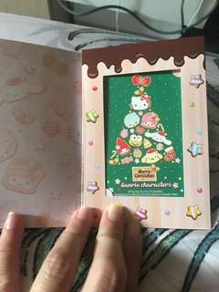 GV Sanrio Ezlink card limited edition Christmas