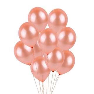 Rose Gold Helium Balloons