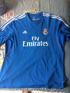 Jersey real madrid big size