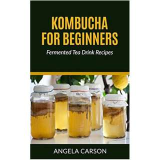 Kombucha and Fermented Tea Drinks For Beginners Including Recipes: How to Make Kombucha at Home - Simple and Easy