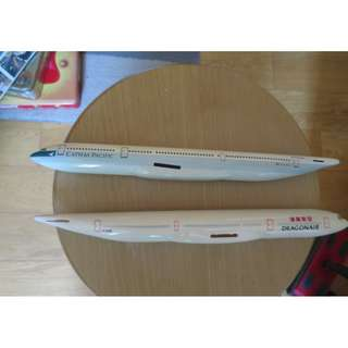 A330 Dragonair and Cathay  Plastic models, livery  dating back to mid 90s