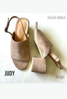 Judy block heels