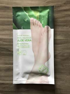 Foot Mask Real Squeeze Aloe Vera