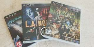 PS3: Dragon's Crown, LA Noire, Metal Gear Rising Revengeance
