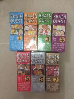 Brain Quest Box Set of 7