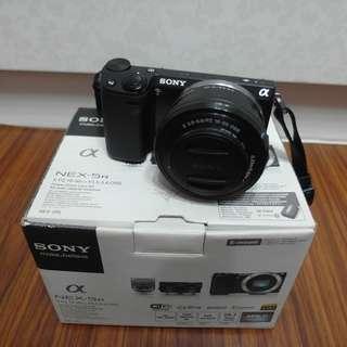 【出售】SONY NEX-5R + 16-50mm 微單眼相機 盒裝完整 9成新