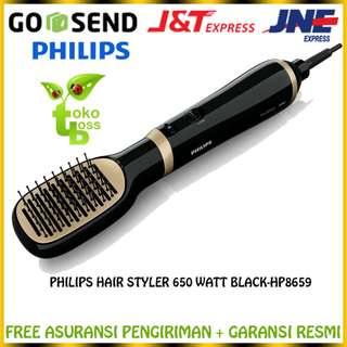TOKOBOSS - PHILIPS HAIR STYLER 650 WATT BLACK HP8659 / SISIR ION