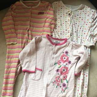 Mothercare and Mamas and Papas Sleepsuit