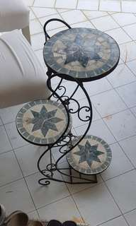 3 tier plant or ornament stand