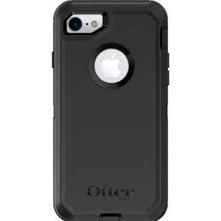 OtterBox 保護殼 / iPhone 8 , iPhone 7/ Defender Series - Black
