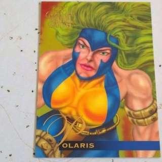 1995 Flair Marvel Annual Base Card #26 - Polaris