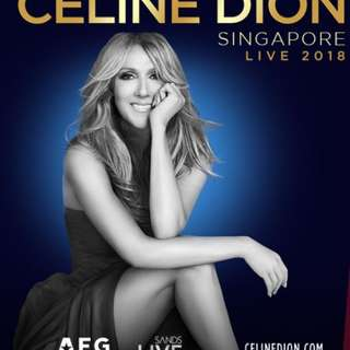 Celine Dion Live 2018 in Singapore