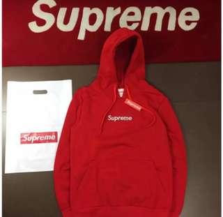 Supreme red jumper