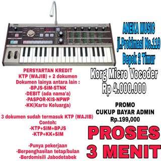 Korg Micro Vocoder