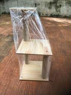 Cat Tree Wooden Platform 74x35cm
