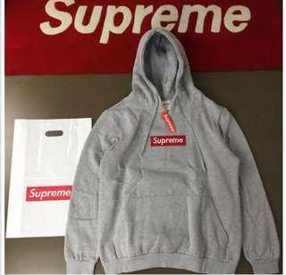Supreme grey jumper