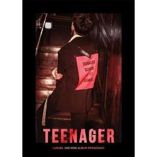 SAMUEL 2ND MINI ALBUM (REPACKAGE) - TEENAGER