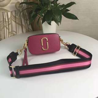 Marc Jacobs Snapshot Camera Bag - dark pink