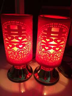 Prosperity lamps for betrothal/ dowry gifts