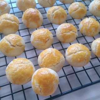 Homemade Crunchy Almond Cookies/Sugee