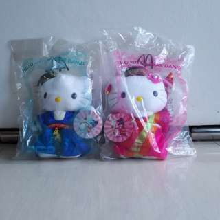 Mcdonald Hello Kitty and Dear Daniel korean wedding pair