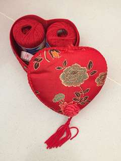Sewing kit for betrothal/ dowry gifts