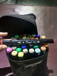 Tinge fine colour 36pcs