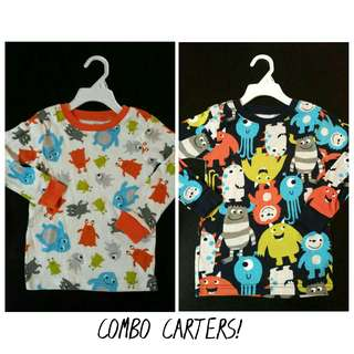 COMBO 2 CARTERS LS Tshirt