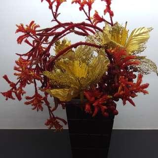 Flowers Faux Arrangement AAA0177