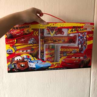 Disney Mcqueen Cars Mega box set / Goodie bag