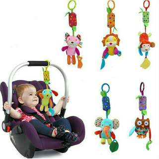 Hanging Chime Teether Crib/Carseat/Stroller Toy