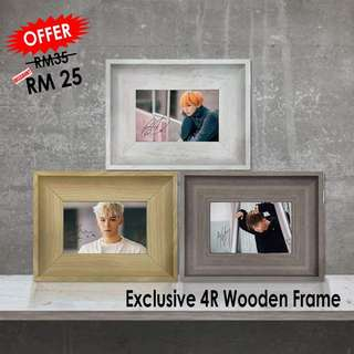 Exclusive Wooden Frame