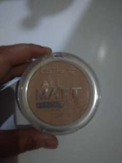 All matt shine control powder