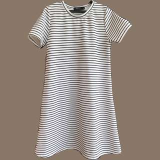 Sm women's stripes dress